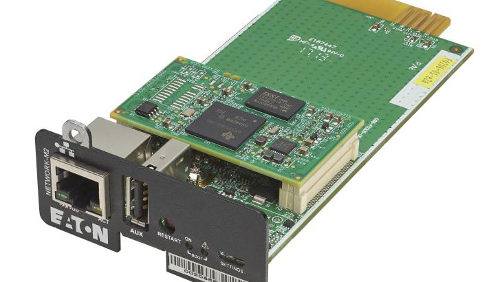 Eaton Gigabit Network Card (angled)